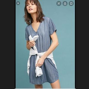 Cloth & stone Justine Dress Chanbray XS